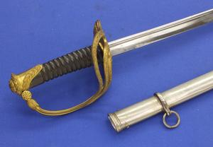 A very nice Antique Historic Belgium Officers Sword M 1889, length 108 cm, in very good condition,. Price 695 euro