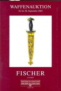 Fischer catalog 26 september 2002, 200 pages text and 172 pages pictures. Price 30 euro