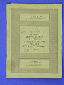 Sotheby's catalog 15 july 1975, 41 pages (damage, one picture page missing) Price 10 euro