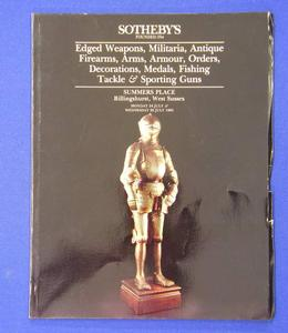 Sotheby's catalog 24 july 1995, 110 pages. Price 20 euro