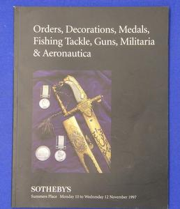 Sotheby's catalog  10 november 1997, 95 pages. Price 20 euro