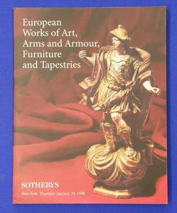 Sotheby's catalog 29 january 1998, 222 pages (also antique furniture etc). Price 25 euro