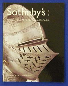 Sotheby's catalog 7 december 2001, 150 pages. Price 20 euro