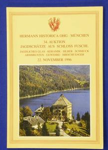 Hermann Historica catalog 22 november 1996, 131 pages. Price 15 euro