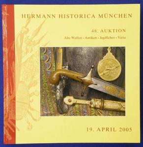 Hermann Historica catalog 19 april  2005, 479 pages. Price 25 euro