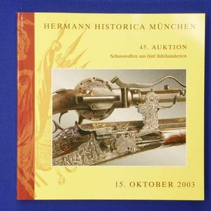 Hermann Historica catalog 2003, 231 pages. Price 20 euro