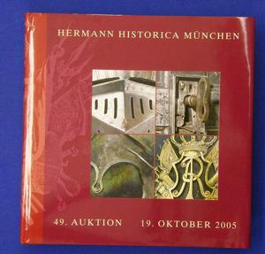 Hermann Historica catalog 19 oktober 2005, 350 pages. Price 30 euro