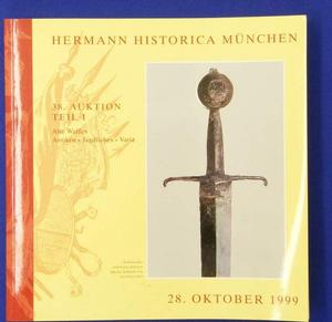 Hermann Historica catalog 28 oktober 1999, 254 pages. Price 20 euro