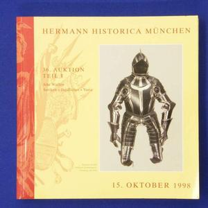 Hermann Historica catalog 15 oktober 1998, 263 pages. Price 20 euro