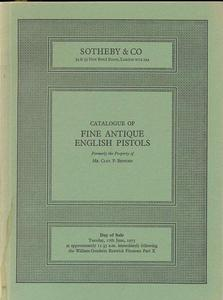 The unused Sotheby's catalog 17 june 1975, 54 pages. Price 20 euro