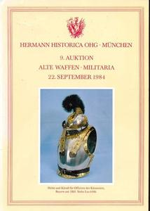 The Hermann Historica catalog 22 sept 1984, 150 pages. Price 15 euro