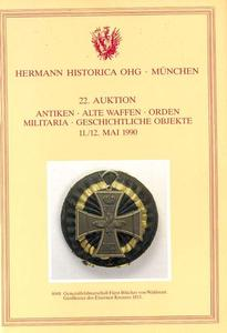 The Hermann Historica catalog 11 mai 1990, 900 pages. Price 25 euro
