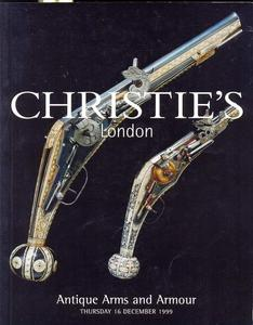 Christie's Catalog 16 december 1999, 115 pages. Price 25 euro