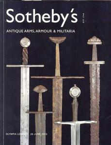 Sotheby's Catalog 26 june 2003, 205 pages. Price 20 euro