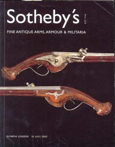 Sotheby's Catalog 10 july 2002, 162 pages. Price 20 euro