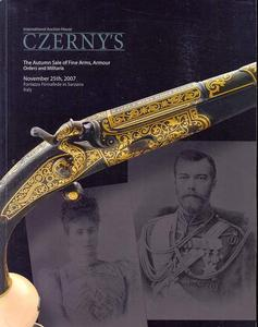 Czerny's Catalog 25 november 2007, 420 pages. Price 35 euro