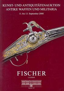 Fischer Catalog 11 serptember 2008, 248 pages text and 201 pages pictures. Price 30 euro