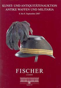 Fischer Catalog 6 september 2007, 192 pages text and 72 pages pictures. Price 20 euro
