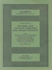 Sotheby's Catalog 19 april 1977, 33 pages. Price 15 euro
