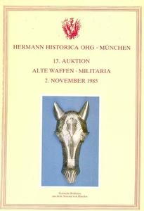 Herman Historica Catalog 2 november 1985, 200 pages . Price 15 euro
