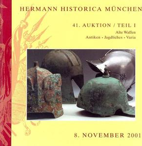 Herman Historica Catalog 8 november 2001, 496 pages. Price 25 euro