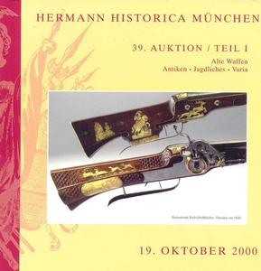 Herman Historica Catalog 19 oktober 2000, 324 pages. Price 20 euro