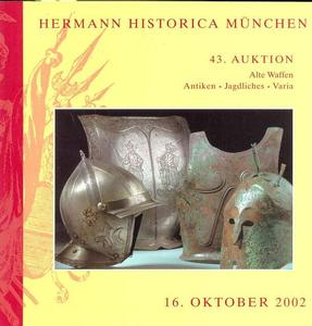 Herman Historica Catalog 16  oktober 2002, 420 pages . Price 25 euro