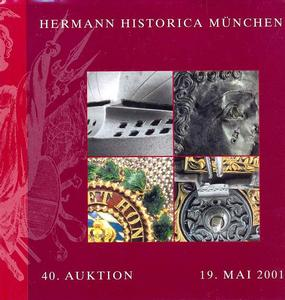 Herman Historica Catalog 19 mai 2001, 225 pages. Price 20 euro