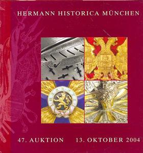Herman Historica Catalog 13  oktober 2004, 450 pages . Price 30 euro