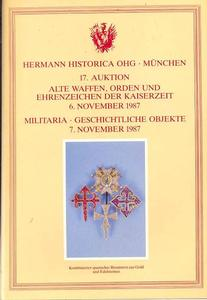 Hermann Historice Catalog 7 november 1987, 600 pages. Price 25 euro