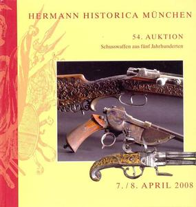 Hermann Historica Catalog 7 april 2008, 417 pages. Price 30 euro