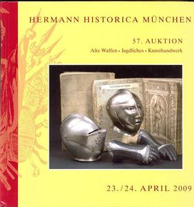 Hermann Historica Catalog 23 april   2009, 570 pages. Price 30 euro