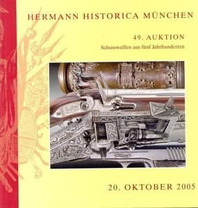 Hermann Historica Catalog 20  oktober   2005, 460 pages. Price 30 euro