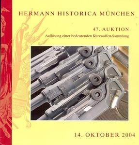 Hermann Historica Catalog 14  oktober   2004,  360 pages. Price 25 euro