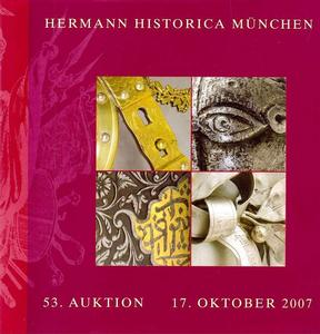 Hermann Historica Catalog 17 oktober   2007, 550 pages. Price 30 euro