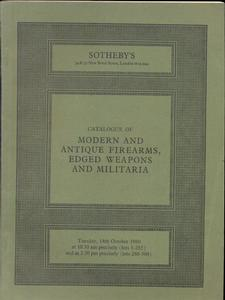 Sotheby's Catalog 14 oktober 1980, 50 pages. Price 20 euro