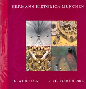 Unused Hermann Historica Catalog 9 oktober 2008, 400 pages, Price30 euro