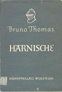 The book Harnische by Bruno Thomas, 1947, 78 pages. Whitout Dust Jacket. Price 35 euro