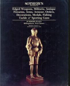 Sotheby's Catalog 24 july 1995, 100 pages. Price 20 euro