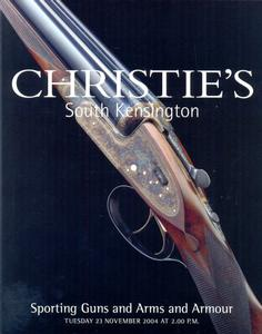 Christie's Catralog 23 november 2004, 50 pages. Price 15 euro