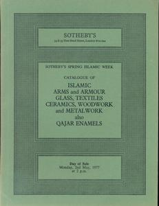 Sotheby's Catalog 2 may 1977, 75 pages. Price 20 euro