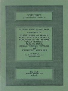 Sotheby's Catalog 3 april 1978,  90 pages. Price 20 euro