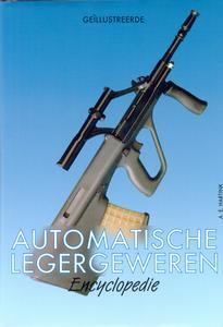 The unused book Automatische Legergeweren by A.E.Hartink, 318 pages. Price 10 euro