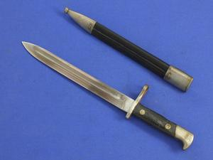 A very nice antique Spanish Bayonet Model 1893, length 37,5 cm, in very good condition. Price 100 euro