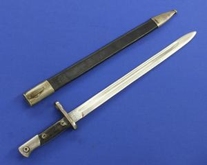 A very nice antique Spanish Bayonet Model 1913, Artilleria . National. Toledo, length 56 cm, in very good condition. Price 110 euro
