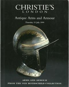 Christie's Catalog 15 july 1999, Rothschild Collection, 140 pages. Price 35 euro