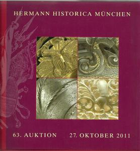 Hermann Historica Catalog 27 oktober 2011, 400 pages. Price 30 euro