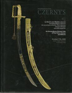 Czerny's Catalog 17th october 2008. The Baron von Weyhe Collection. 367 pages. Price 40,- euro