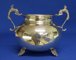 A very nice Silver Sugar Bowl, height 13.5 cm, in very good condition. Price 100 euro reduced to 79 euro
