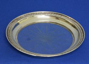 A very nice Sterling Silver Coaster, diameter 14 cm, in very good condition. Price 75 euro reduced to 59 euro